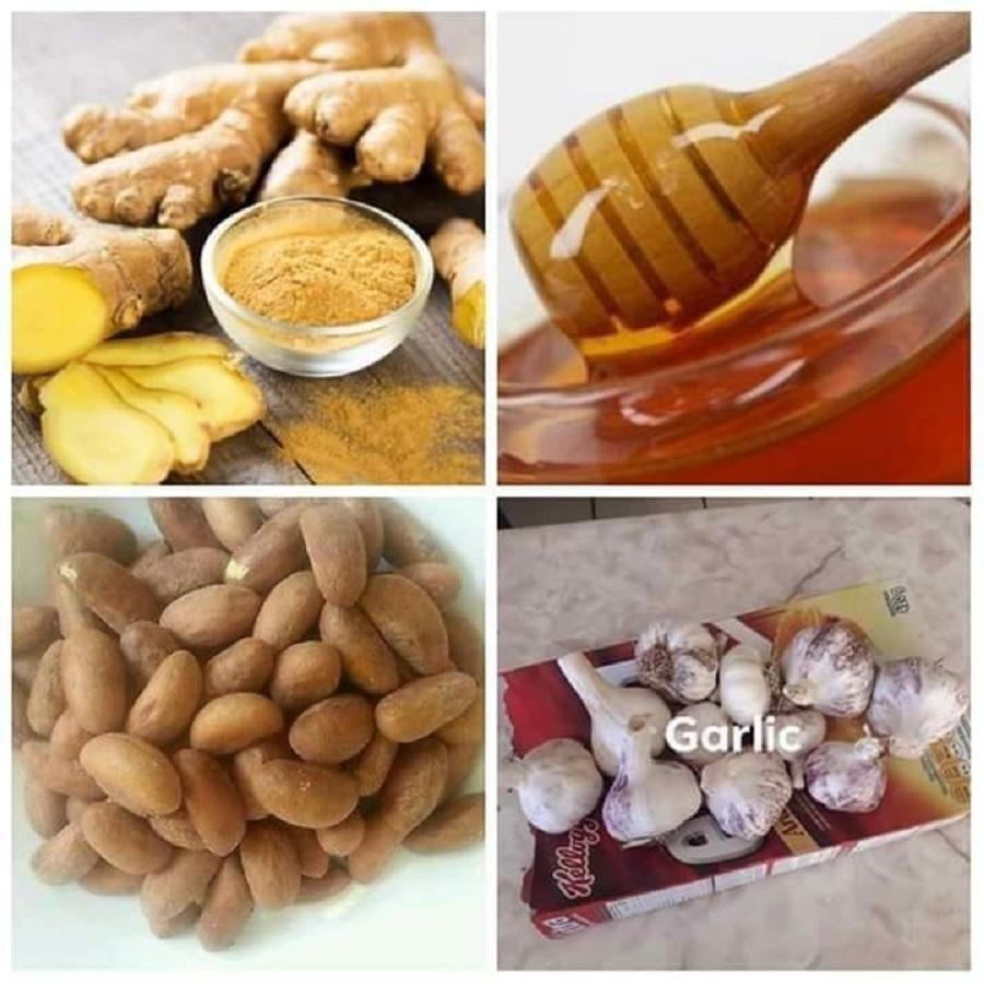 The miracle combination: bitter kola, garlic, ginger